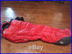 Karakoram Eddie Bauer First Absent Sleeping Bag 0F NWT