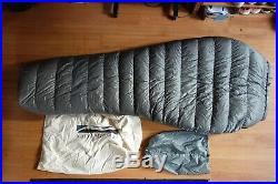 Katabatic Grenadier Sleeping Bag 5 Degree Wide 6'6
