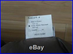 Katabatic flex 22F backpacking quilt, 850fp goose down, reg width, 6ft height