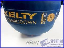 Kelty Cosmic Down 20F Blue New Regular Sleeping Bag