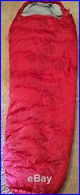 Kelty Cosmic Down 20 Degree Sleeping Bag Used Once In Original Box Extra Long