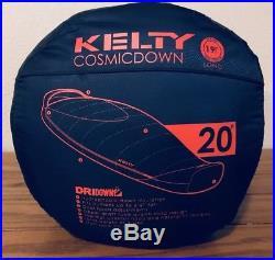 Kelty Cosmic Down 20 Sleeping Bag 20 Degree, Long