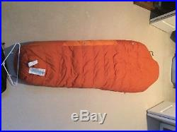 Kelty Ignite Dri Down Sleeping Bag, 0 degrees, Men's, Long, right hand zipper