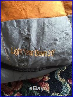 Kelty Light Year Down 20 Sleeping Bag 20F, 650 fill