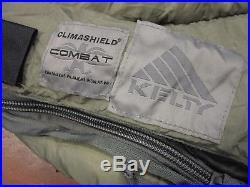 Kelty Military Sleep System Varicom Sleeping Bag Set Afsoc (5) Piece Bivy Gamma