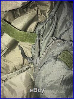 Kelty Varicom Delta 30 + Gamma 0 Deg Reg Sleeping Bag Tactical US Military EXC