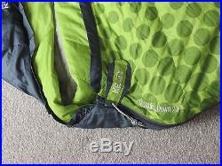 Kelty cosmic down sleeping bag 20 degree 3-season long