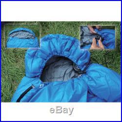 KingCamp Camping Hiking Winter Mummy Sleeping Bag 3 4 Season Warm and Light