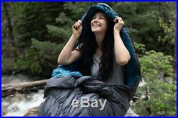 Klymit KSB 35 Degree Down Hybrid Sleeping Bag Camping Backpacking Brand New
