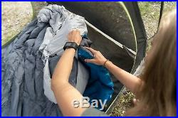 Klymit KSB Double 30 Degree Down Hybrid Sleeping Bag Camping Brand New