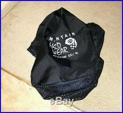 LIKE NEW Mountain Hardwear Phantom 15 Q. Shield Down Sleeping Bag
