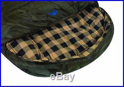 Ledge Sleeping Bag Cold Weather Zero Degree to -20 Dual Wall Barrel Locks