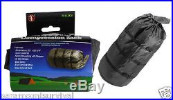 Lightweight Camping Compression Stuff Sack Bag for Sleeping Bag Outdoor Grey