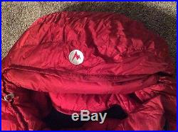 MARMOT CWM MEMBRAIN -40 sleeping bag Size Long 6'6 NWT