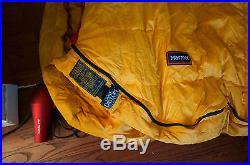MARMOT EXPEDITION'COL' DRYLOFT 800FILL DOWN SLEEPING BAG -20F long