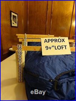MARMOT MOUNTAIN WORKS GORETEX GOPHER -30°F DOWN LONG LZ SLEEPING BAG +2Pads