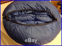 MARMOT MOUNTAIN WORKS GORETEX GOPHER DOWN LONG SLEEPING BAG +2Pads