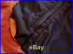 MARMOT Never Summer 0 F. MUMMY Sleeping Bag 600 g Down Fill SIZE LONG Excellent
