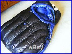 MARMOT PLASMA 15F/-9C 900 FILL PERTEX QUANTUM REG-LZ SLEEPING BAG