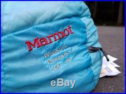 MARMOT Women's Pinnacle 800 Fill Down Ultralight +15 Sleeping Bag 2 lbs 8 oz