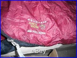 MOUNTAIN HARDWEAR PHANTOM 32 DOWN SLEEPING BAG