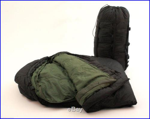 MSS Military Modular Sleep System 3 Season Temps 50 to -10° -Used
