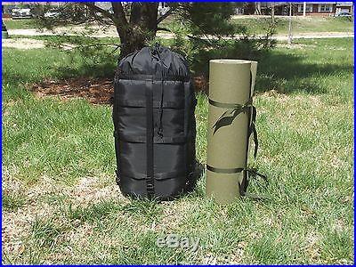 MSS Military Modular Sleep System Sleeping Bags VG + New Foam Sleeping Pad Mat