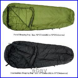 MT Military Modular Sleeping Bags System Multi Layered with Bivy Cover Multicam
