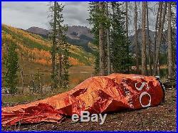 MYLAR EMERGENCY SLEEPING BAG BACKPACK CAMP BIVVY SOLAR THERMAL SURVIVAL GEAR