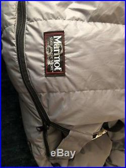Marmot -20 Degree Gopher Col Goose Down Regular Gore-tex Expedition Sleeping Bag