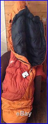 Marmot 5°F Rampart Down Sleeping Bag 650 Fill Power, Long Mummy