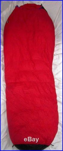 Marmot 775 Nylon Sleeping Bag Goose Down Insulation