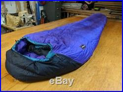 Marmot Aguille -5F Goose Down Sleeping Bag Regular Gore-tex DryLoft right zip