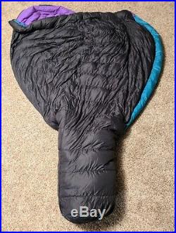Marmot Aiguille Down Sleeping Bag -5F Excellent Condition