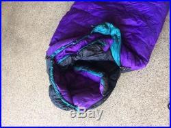 Marmot Aiguille Dryloft -20F 725 Goose down sleeping bag Long size
