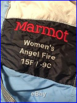 Marmot Angel Fire Womens Down Sleeping Bag