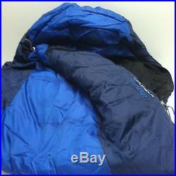 Marmot Aspen 20° Explorer Sleeping Bag Mummy Blue Navy Outdoor Camping Hiking