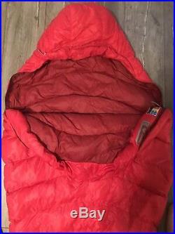Marmot Atom Down Sleeping Bag Long Left Zip 40 degree Ultralight Backpacking