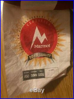 Marmot Atom Down Sleeping Bag Regular Left ZIP 40 degree Ultralight Backpacking
