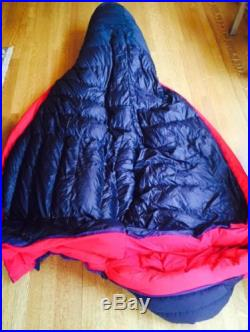 Marmot CWM Membrain, long -40oF, 800 down fill sleeping bag UNUSED