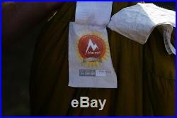 Marmot Col -20 Rated Goose Down Sleeping Bag- Regular Left Zip