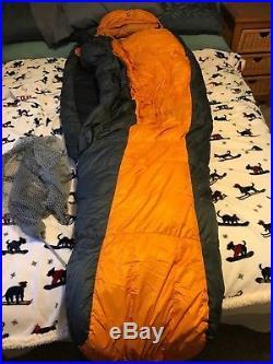 Marmot Col EQ Long Right Zip Down Sleeping Bag -20 F/-29 C 775 Goose Down