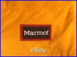 Marmot Col Gore Dryloft 775 Fill Goose Down Cold Winter -20F Sleeping Bag