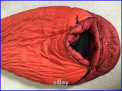 Marmot Couloir 0 Degree Down Sleeping Bag size Regular