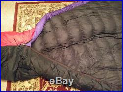 Marmot Couloir Goose Down Sleeping Bag with Gore DryLoft Shell rated to -5° F