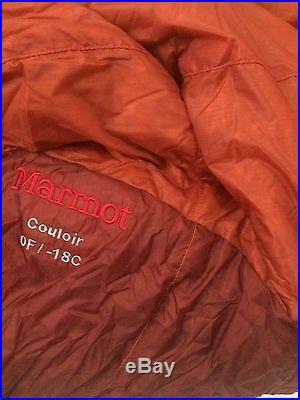 Marmot Couloir Sleeping Bag 0 Degree Down Sleeping Bag