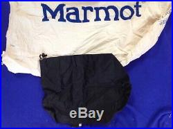Marmot Down CWM Sleeping Bag -40 Degree Left Zipper Red New