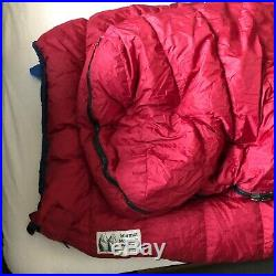 Marmot Gore-Tex down sleeping bag size Tall excellent condition