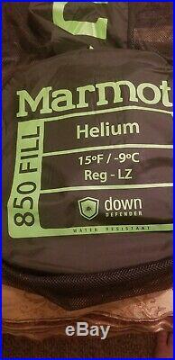 Marmot Helium 850 Down Sleeping Bag 15 Degree Regular