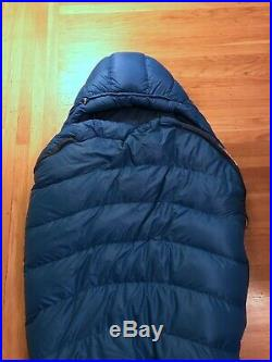 Marmot Helium Down Sleeping Bag 15 DegDown Long/Left Zip
